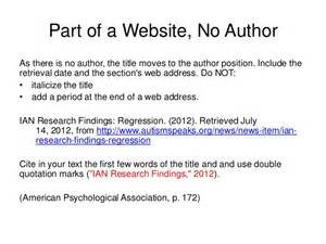 apa web documents 6th ed