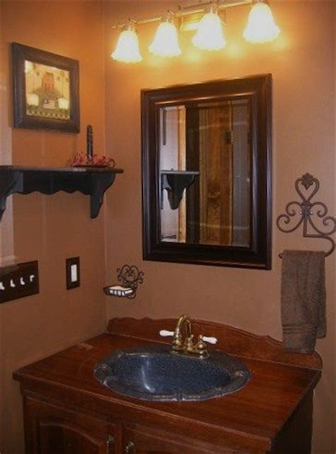 best 25 primitive country bathrooms ideas on