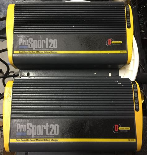dual marine battery charger pro mariner 20 battery charger dual bank the hull