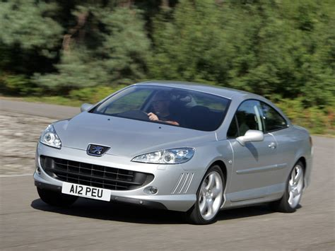 peugeot 407 coupe 2005 peugeot 407 coupe pictures information and specs