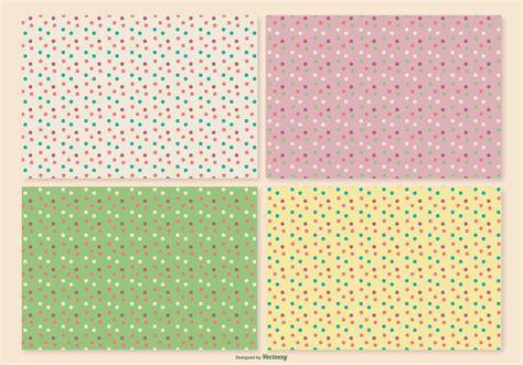 retro polka dot pattern vector by heizel on vectorstock retro polka dot pattern set download free vector art