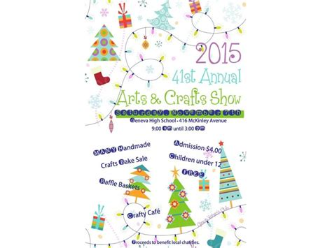 holiday craft shows in illinois geneva s club hosts 41st annual craft show geneva il patch