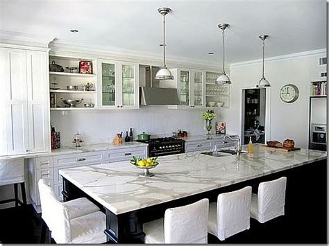 carrara marble kitchen island cote de white marble for the kitchen yes or no