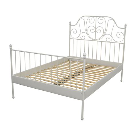 bed frames for full size bed 64 off ikea ikea leirvik full size bed frame beds