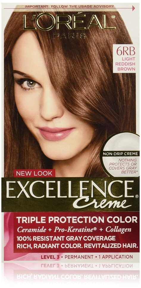 6rb hair color l oreal healthy look creme gloss hair color