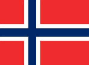noorwegen nationale vlaggen