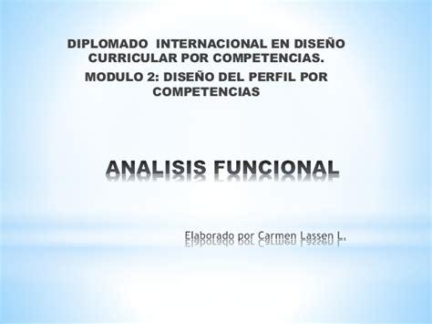Dise O Curricular Por Competencias Julian De Zubiria Power Point Sobre Analisis Funcional