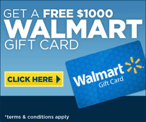 Completely Free Gift Cards - free 1 000 walmart gift card at totally free stufftotally free stuff