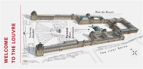 the louvre floor plan paris louvre dong s journey