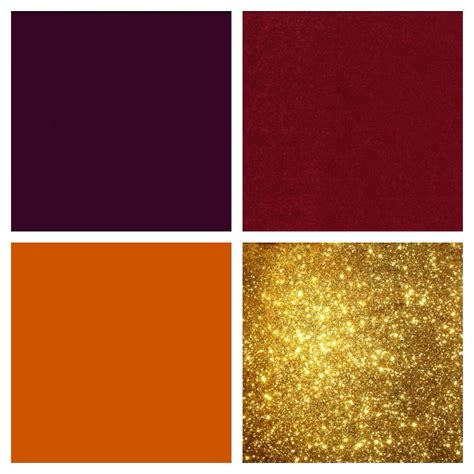 what colors go with burnt orange colors that go with cranberry my web value