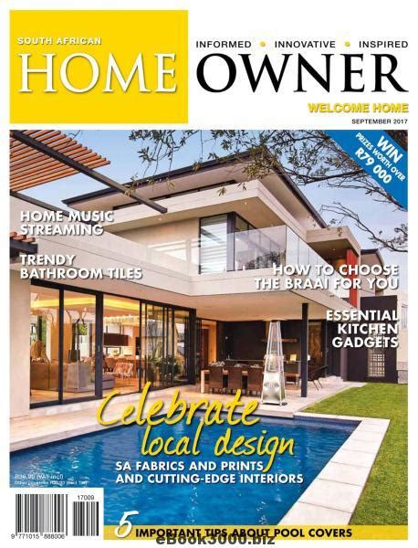 country homes interiors 08 2017 187 download pdf magazines magazines commumity south african home owner september 2017 free pdf