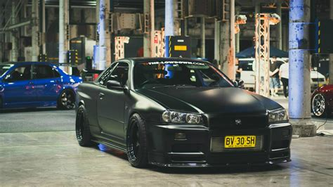 nissan r34 black black nissan skyline gtr r34 wallpapers and images
