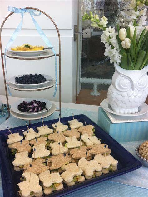 Tea Sandwiches For Baby Shower by Baby Shower Tea Sandwiches Let S