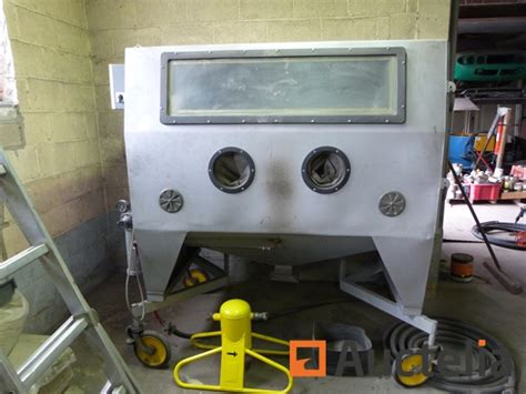cabine de sablage sur roulettes
