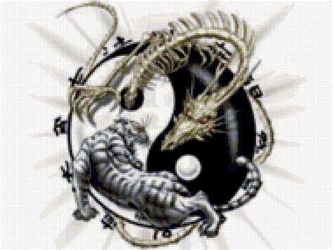 картинки инь янь дракон тигр picpool ru