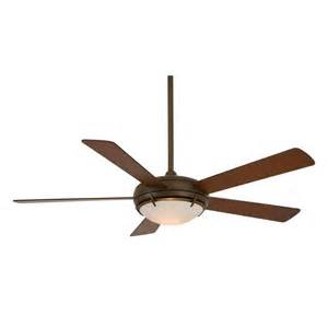 Rubbed Bronze Ceiling Fan With Light Minka Aire F603 Orb Como 5 Blade 2 Light Ceiling Fan In
