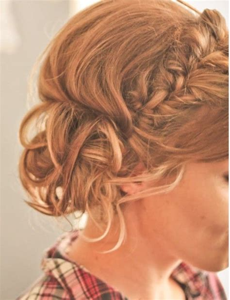 french braid across the top 427 best images about messy buns updos on pinterest