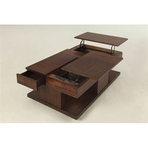 progressive furniture le mans coffee table with