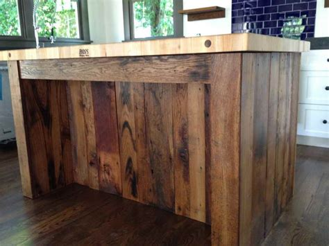 kitchen reclaimed wood kitchen island portable kitchen
