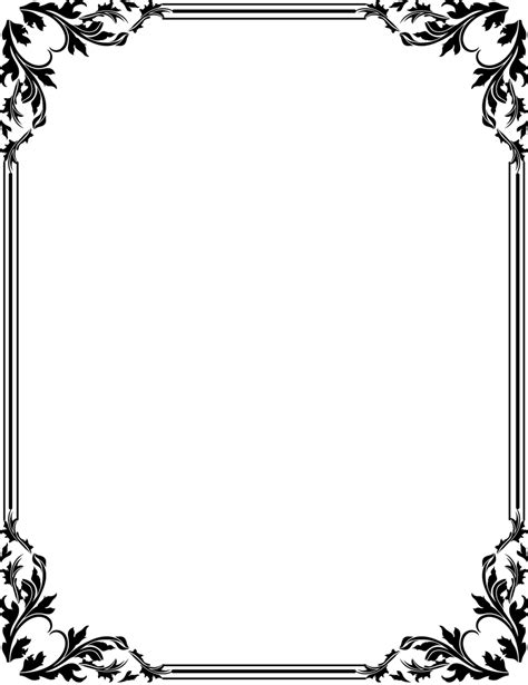 frame layout definition page borders designs cliparts co latest border clipart