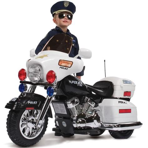 Elektro Motorrad Kleinkind by Moto 233 Lectrique Quot Police Quot Achat Vente Moto Scooter