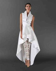 womens wedding dress suits 47 chic wedding suits for brides martha stewart weddings