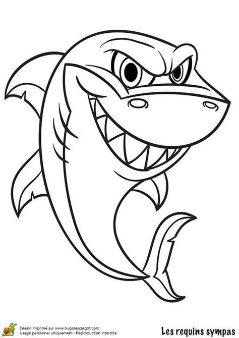 Les 25 Meilleures Id 233 Es De La Cat 233 Gorie Dessin De Requin Dessin De Requin Blanc Colorier L