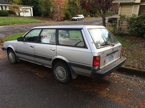 1992 subaru loyale sedan cc for sale 1992 subaru loyale wagon already gone