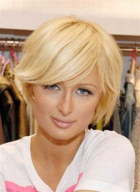 bobshortthinhair squareface 10 cute short hairstyles for round faces short