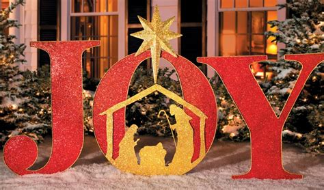 nativity scene christmas decorations
