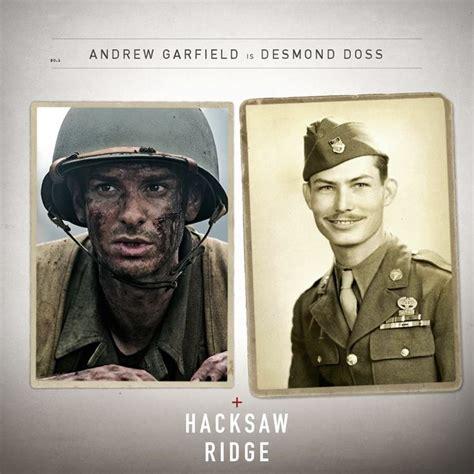 biography based movie see andrew garfield as american war hero desmond doss in