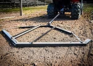 Landscape Rake Vs Chain Harrow Titan Adjustable Tow Atv Utv Lawn Tractor Harrow