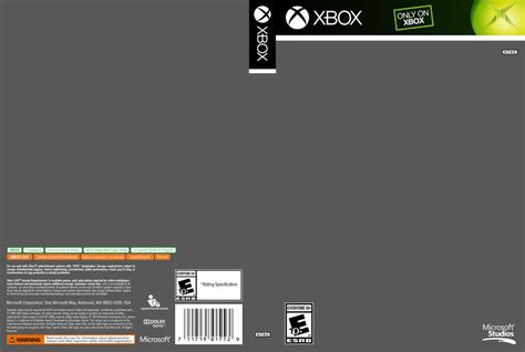 format dvd xbox 360 xbox cover template by etschannel on deviantart
