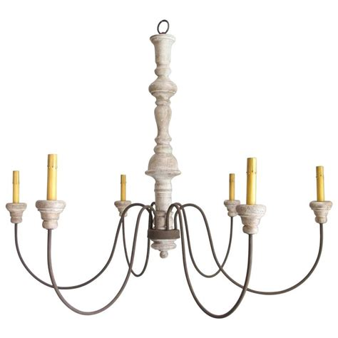 candlestick chandelier antique carved wood candlestick swoop arm chandelier for