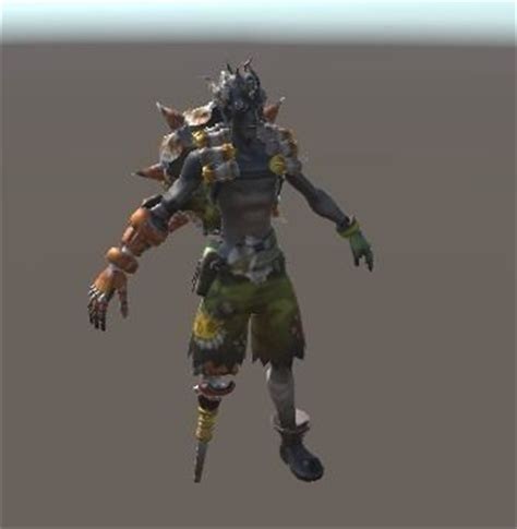 free download cgtrader models 3d asset junkrat from overwatch cgtrader
