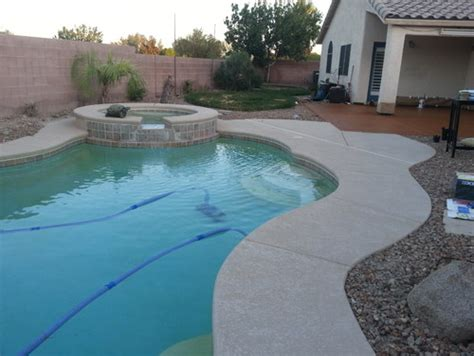 pool deck colors pool deck stain color
