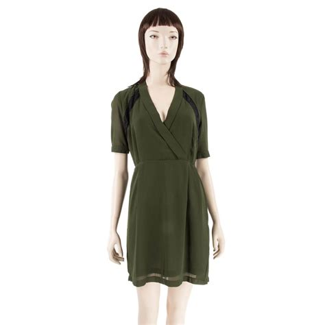 Robe Dentelle Femme - d 233 stockage robe kaki avec dentelle femme soul
