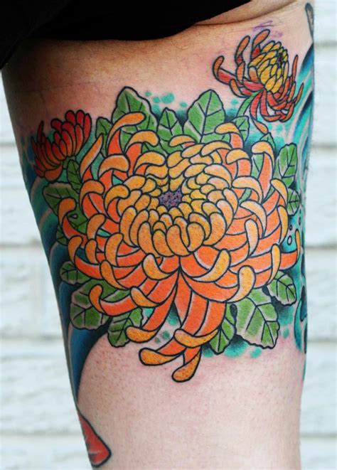 chrysanthemum flower tattoo chrysanthemum picture
