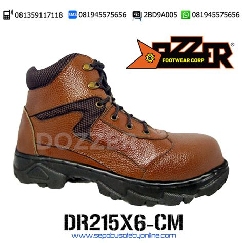Aneka Merk Sepatu Safety sepatu trekking safety dozzer dr215x7 cm