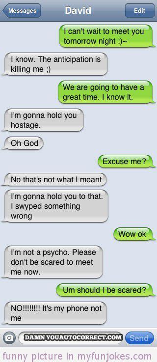 autocorrect fail hostage funny clean jokes short httpwwwmyfunjokescomfunny sms