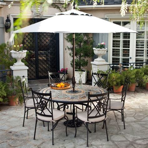 Cheap Patio Sets With Umbrella Patio Amusing Umbrella Patio Set Design Patio Furniture