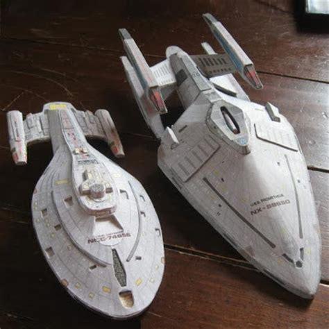 Trek Papercraft - trek papercraft voyager and prometheus