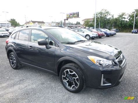 subaru crosstrek grey 2016 dark gray metallic subaru crosstrek 2 0i 115805117