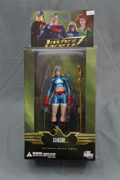 libro summary justice an all action dc direct justice society stargirl action figure