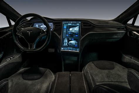 Tesla S Interior Images Unplugged Performance Carbonise La Tesla S Le Auto