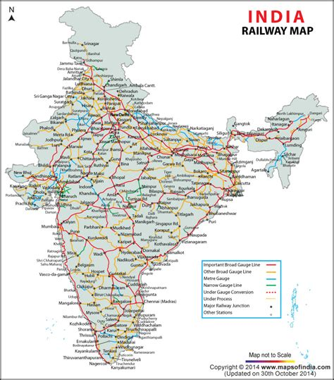 train routes india train rail maps
