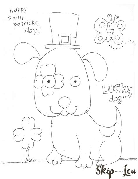st s day coloring sheet st patricks day coloring page for preschoolers st