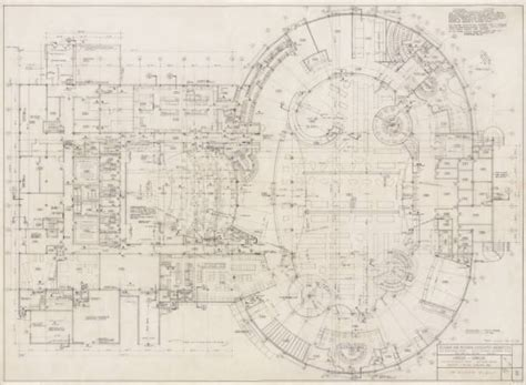 circus circus floor plan unlv libraries digital collections architectural drawing of circus circus las vegas first