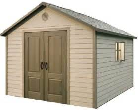 lifetime 11 x 11 outdoor storage shed 6433 on sale