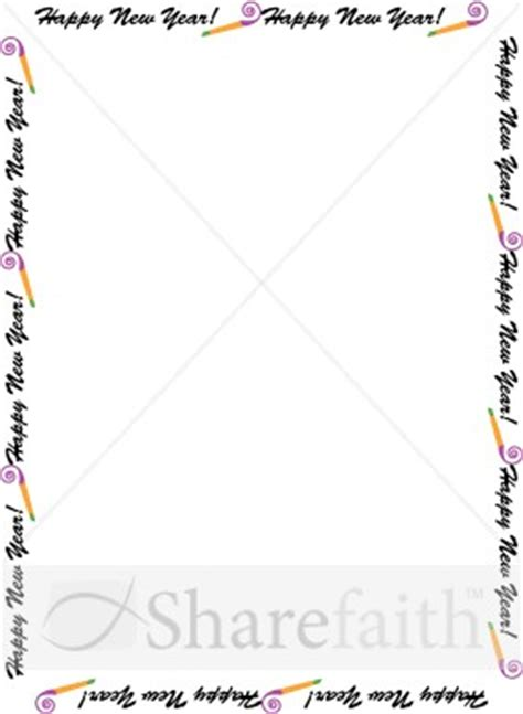 new year page border sparklebox happy new year page border search results calendar 2015